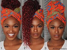 Hair Wrap Scarf, Hair Scarf Styles, Curly Hair Styles, Natural Hair Styles, African Hair Wrap, African Head Wraps, African Head Scarf, Scarf Hairstyles, African Hairstyles
