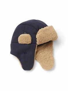 4a53e2d127d56 Winter russian trapper hat mens  large  black   grey fur cossack  soviet  ushanka