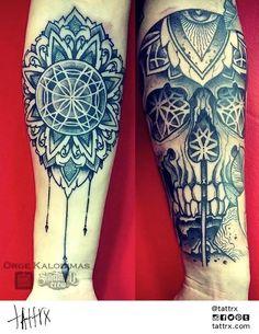 Orge Kalodimas, Sake Tattoo Crew   Athens Greece #tattoo #ink