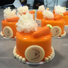 "501 Likes, 9 Comments - Karina Rivera C (@karinarc_5) on Instagram: ""One of my favorites!!!⭐️ Carrot petit gateaux!! @bachour_bb #bachourbakeryandbistro #newdessert…"""