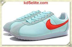 Nike Classic Cortez Nylon Womens Tiffany Blue Sport Red 457226 303 Tiffany Blue Shoes, Tiffany And Co, Nike Classic Cortez, Nike Cortez, Sneakers Nike, Sport, Red, Women, Nike Tennis