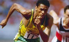 Joaquim Cruz disputa os 800m nas Olimpíadas de 1988, em Seul. Foto: Mike Powell/Getty Images