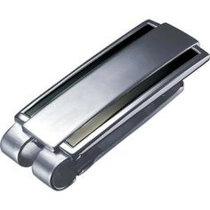 PersonalizedVisol Armand Carbon Fiber Stainless Steel Engravable Money Clip with free engraving
