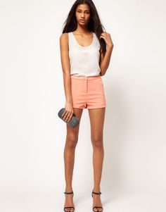 ASOS Short With Curved Hem  FROM $22.02