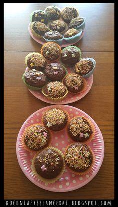 Muffinki z ciasta marchewkowego