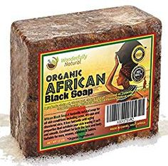 Organic African Black Soap Best for Acne Treatment Eczema Dry Skin Psoriasis Scar Removal Dandruff Pimples Mark Removal Anti-fungal Face & Body Wash Homemade Acne Treatment, Best Acne Treatment, Acne Treatments, Nail Treatment, Skin Whitening, Cleaning Tips, Home Remedies, Homemade Skin Care, Skin Tips