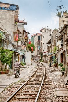 Train tracks - Hanoi, Vietnam