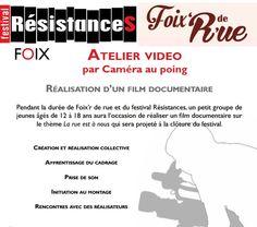 Ateliers enfants-ado vidéo: réalise ton 1°film documentaire, avec l'Association Caméra au Poing