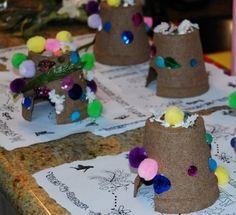 A fairy house! Kids