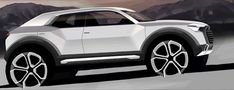 Audi Q1 Preview Design Sketch