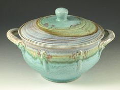 2qt casserole by hodakapottery, via Flickr