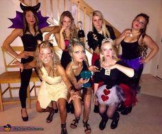 Disney Villians - 2015 Halloween Costume Contest via @costume_works & Disney villains got caught. Our Halloween costumes! | costumes ...