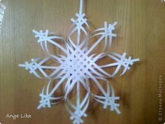 Soon the New Year, so I offer you another option of manufacturing beautiful snowflakes. The site is similar, but still different from mine. photo 1