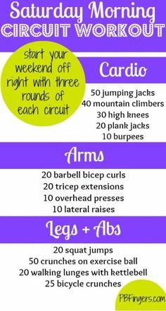 PB Fingers   Weekend Circuit Workout