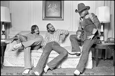 ZZ Top ((Billy Gibbons of Bones) before the beards