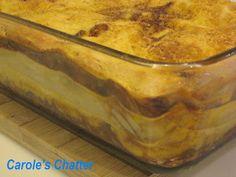 Carole's Chatter: Pork and cauliflower layer bake Pork Recipes, Cauliflower, Cabbage, Veggies, Layers, Friday, Pudding, Baking, Quotations