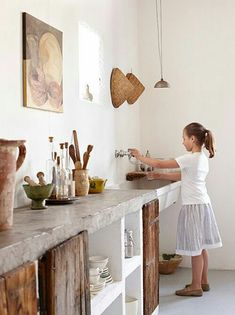 Supreme Kitchen Remodeling Choosing Your New Kitchen Countertops Ideas. Mind Blowing Kitchen Remodeling Choosing Your New Kitchen Countertops Ideas. Stylish Kitchen, New Kitchen, Kitchen Rustic, Kitchen Decor, Kitchen Ideas, Rustic Kitchens, Awesome Kitchen, Rustic Buffet, Recycled Kitchen
