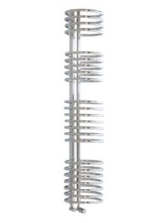 Kudox Loop Decorative Radiator Chrome Plated (H)1635 x (W)320mm, 5060069421210