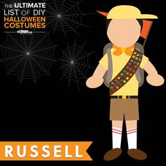 Good afternoon. My name is Russell. And I am a wilderness explorer in tribe 54, Sweat lodge 12. Are you in need of any assistance today, sir?  Learn how to create a Russell #halloweencostume for cheap on our blog +250 other costume ideas: ecampusdot.com/1MUKey7