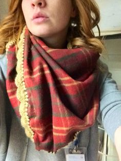 Beautiful original beck blanket scarf!  https://www.etsy.com/shop/Hookopotomus
