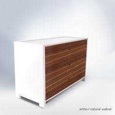 ducduc parker 3 drawer dresser - modern - kids dressers - new york - by ducduc