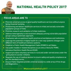 #NationalHealthPolicy2017 : Committed to health for all #SwasthaBharat