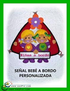 SEÑAL BEBÉ A BORDO PARA EL COCHE