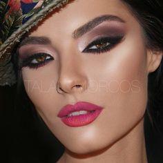 Maquillaje de @talalmorcos