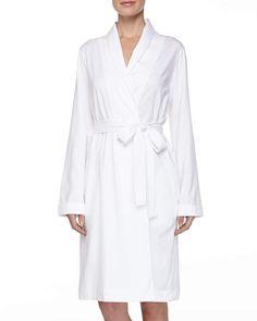 Hanro Cotton Jersey Short Robe  Cotton Hanro Jersey Jersey Shorts 3e576bcdc