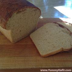 Sourdough Kefir Sandwich Bread