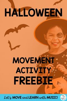 "Get your students doing some ""Spooky Moves"" with this Free Music Activity Video. It's part of the Halloween Music Bundle of Songs, Activities, Actions and Music. Use this song for your Halloween creative movement, Halloween party, or the lesson for your music class. #singplaycreate, #elementarymusichalloweenlessons #musicedhalloween   #halloweenmusicactivities #musicedhalloweensongs #musicedhalloween #halloweenmusiclessons #halloweensongsandactivities #halloweenmusic…"