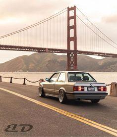 Feeling pretty golden this morning. Bmw E30, Golden Gate Bridge, Feelings, Pretty, Travel, Cars, Instagram, Viajes, Autos
