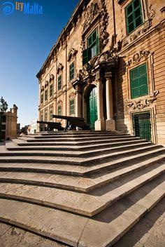 The Auberge de Castille, Office of the Prime Minister of Malta