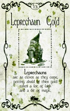 Leprechaun-Gold-label