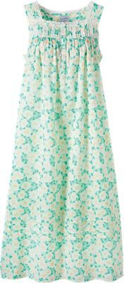 d588b4ecec Our Lanz Gardenia nightgown captures the Tyrolean spirit many customers  love. This nightdress with eyelet