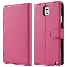 myLife Light Rose Pink {Luxury Smooth Texture Design} Faux Leather (Card, Cash and ID Holder + Magnetic Closing) Slim Wallet for Galaxy Note...