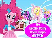 Pinkie Pie Cake Pops