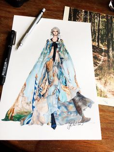 Alberta Ferretti #sketch #sketching #draw #drawing #fashion #fashionsketch #fashiondrawing #fashionillustrator #fashionillustration #fashionart #art #artwork #instaart #illustrator