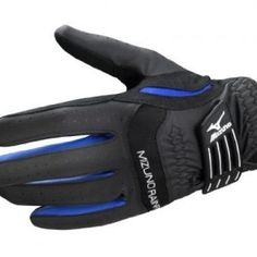 Mizuno Rain Fit - Golf Glove Color: Black Size: M