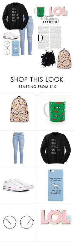 """""""Untitled #31"""" by kelsey-likes-bands ❤ liked on Polyvore featuring Converse and Valley Cruise Press"""