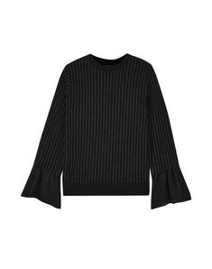 CLU Sweater. #clu #cloth Clu, Black Sweaters, Sweatshirt, Clothes, Collection, Products, Fashion, Stripes, Round Collar