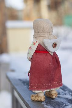 Народные куклы ручной работы. Заказать Кукла Ангел Домашний. Наталья Куликовских 'Душевности'. Ярмарка Мастеров. Русский стиль