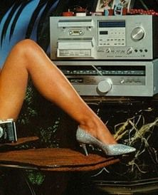 Classy hi-fi ad from the late 70's/early 80's