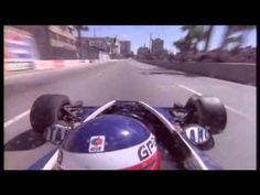 "Patrick Depailler racing at Long Beach, 1978.    One of the most satisfying camera angles to watch Mr. Depailler doing his magic with the Tyrrell 008 — the last Tyrrell he ever drove.    What I especially like about this footage, aside from the obvious, is that it's pretty easy to spot why Formula 1 was so dangerous back then, even in 1978. You get the ""kart feeling"" and instability just by watching the action, except the speeds are as mental as todays'.    It is quite something, isn't it?"