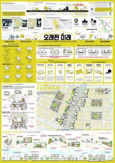 이미지를 클릭하면 창이 닫힙니다. Module Architecture, Factory Architecture, Japanese Architecture, Architecture Design, Interior Design Presentation, Architecture Presentation Board, Presentation Layout, Diagram Design, Layout Design