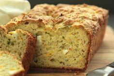 Savory Summer Squash Quick Bread