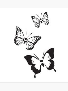 'Semicolon Butterflies' Canvas Print by Hannah Cole Semicolon Butterfly Tattoo, Small Butterfly Tattoo, Semicolon Tattoo, Family Tattoos, Couple Tattoos, Small Tattoos, Flower Tattoos, Ribbon Tattoos, Foot Tattoos