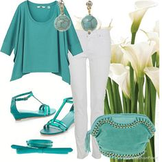 Turquoise walk | Women's Outfit | ASOS Fashion Finder