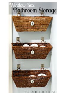 Baskets organizer