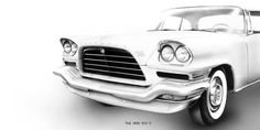 The 1959 #Chrysler 300E featured a horizontal grille. #TBT